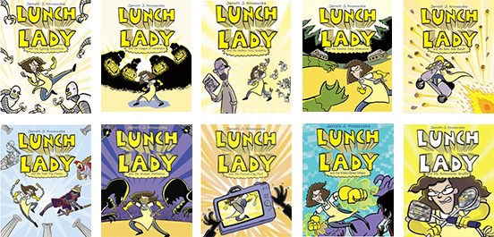 Lunch Lady Graphic Novels