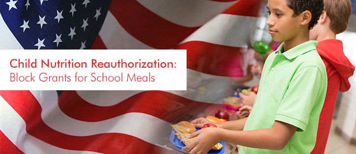 block grants for school meals