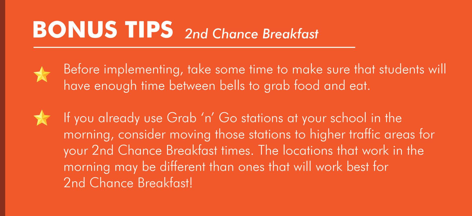 2nd Chance Breakfast School Service Model