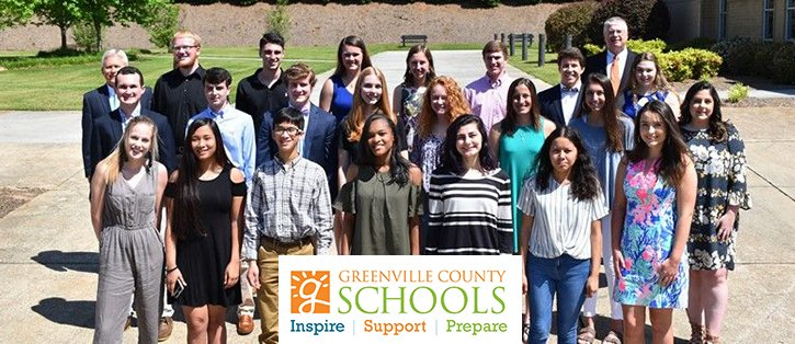 Greenville County Scholarship Student Winners
