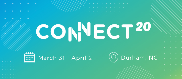 Registration is open! Grab your seat for Connect 2020