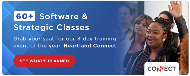 60+ Software & Strategic Classes at the Heartland Connect Training Conference